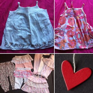 Girls size 0 $10pack
