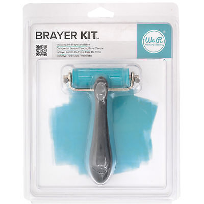 We R Memory Keepers Letterpress Brayer Kit  - 2 Pieces - FREE SHIPPING