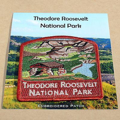 Official Theodore Roosevelt National Park Souvenir Patch North Dakota