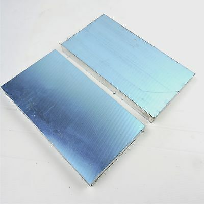 1.5 Thick1 12 Precision Cast Aluminum Plate 5.25x 11 Long Qty 2 Sku174388