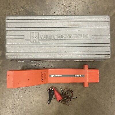 Metrotech Cable Pipe Locator 9890 W Case