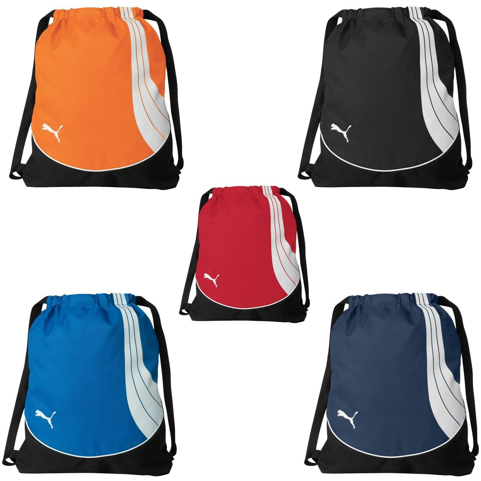 627f2c2572fe Details about PUMA Cat NEW Teamsport Drawstring Backpack Cinch GYM Sack  School Tote Bag PM21
