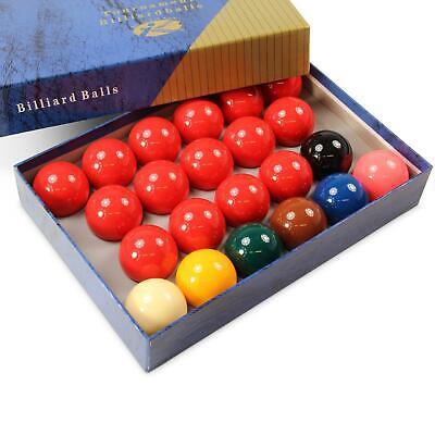 Economy 2 1/16' TOURNAMENT Full Size Snooker Ball Set