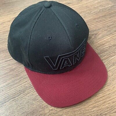 VANS Black Skateboard One Size Adjustable baseball Cap
