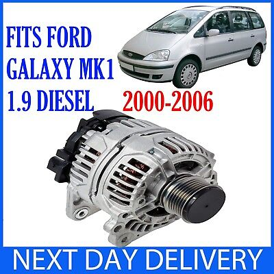FORD GALAXY MK1 1.9 TDI DIESEL 1995-2006 NEW 90A ALTERNATOR WITH PULLEY WGR MPV