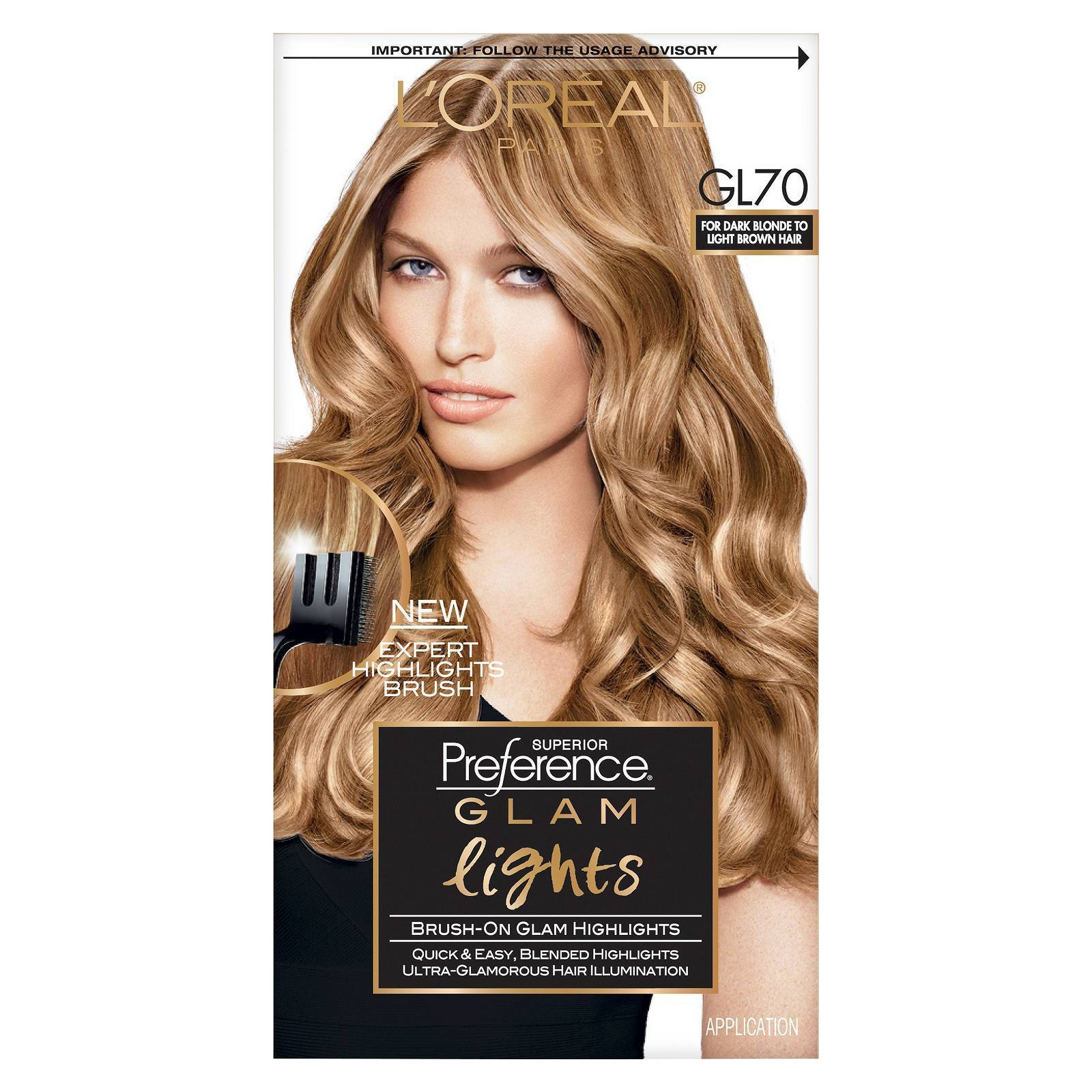 Loreal Paris Superior Preference Glam Lights Highlights Gl70 Dark