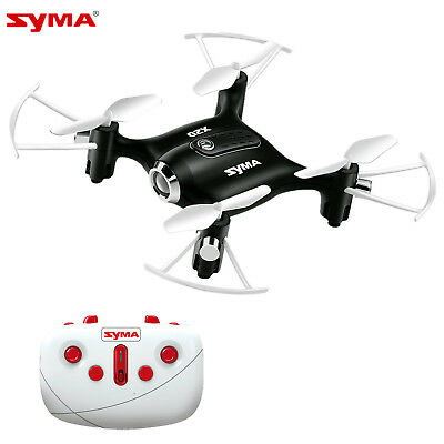 Syma X20 Pocket Drone 2.4Ghz 4CH RC Quadcopter Headless Altitude Hold Mode Black