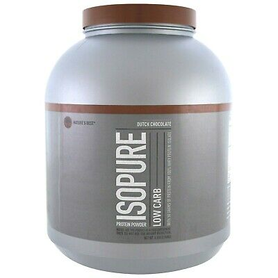 Natures Best Isopure Low Carb Whey Isolate Protein 4.5 lb DUTCH CHOCOLATE -