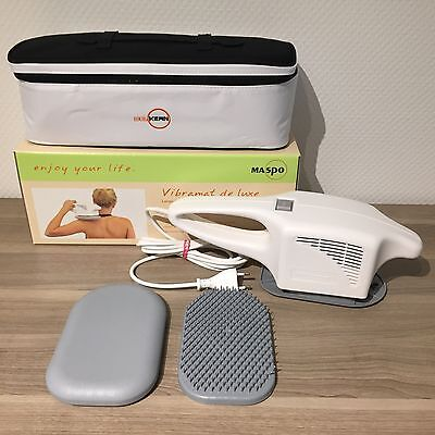 Maspo Vibramat De Luxe inkl. 2 Massageaufsätzen Großflächen Massagegerät