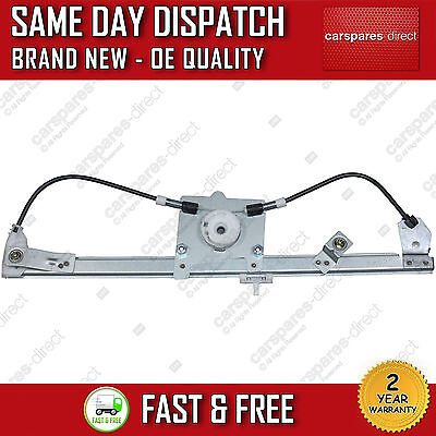 ALL FIAT QUBO MPV 2008ON FRONT RIGHT OFF SIDE DRIVER ELECTRIC WINDOW REGULATOR
