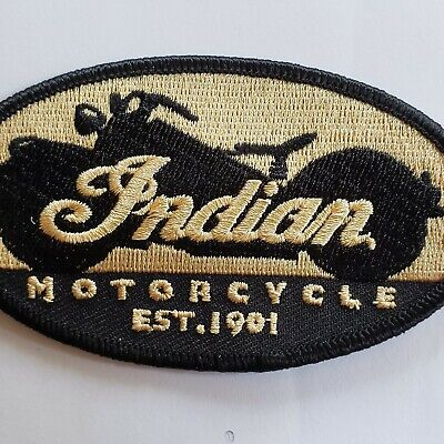 Indian Motorcycle patch Kings Mountain Era (FREE shipping) Vintage Indian Oval