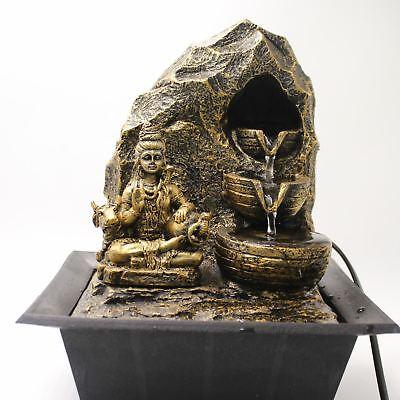 Shiva Waterfall Fountain  Indoor Home Decor Item