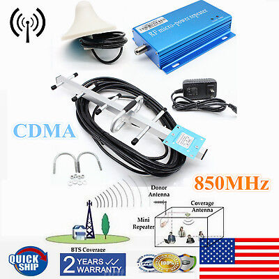 850Mhz 3G 4G Cdma Cellular Phone Signal Repeater Booster Amplifier Yagi Antenna