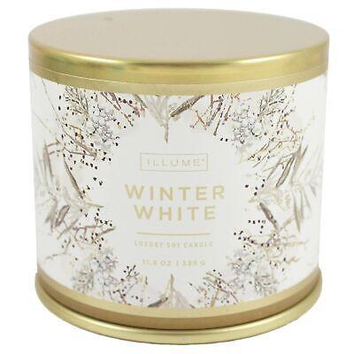 Illume Candle Tin Large Winter White