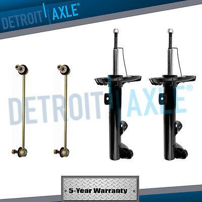 Front Struts Shocks + Sway Bars BMW exc Electronic MTech or Sport Susp RWD