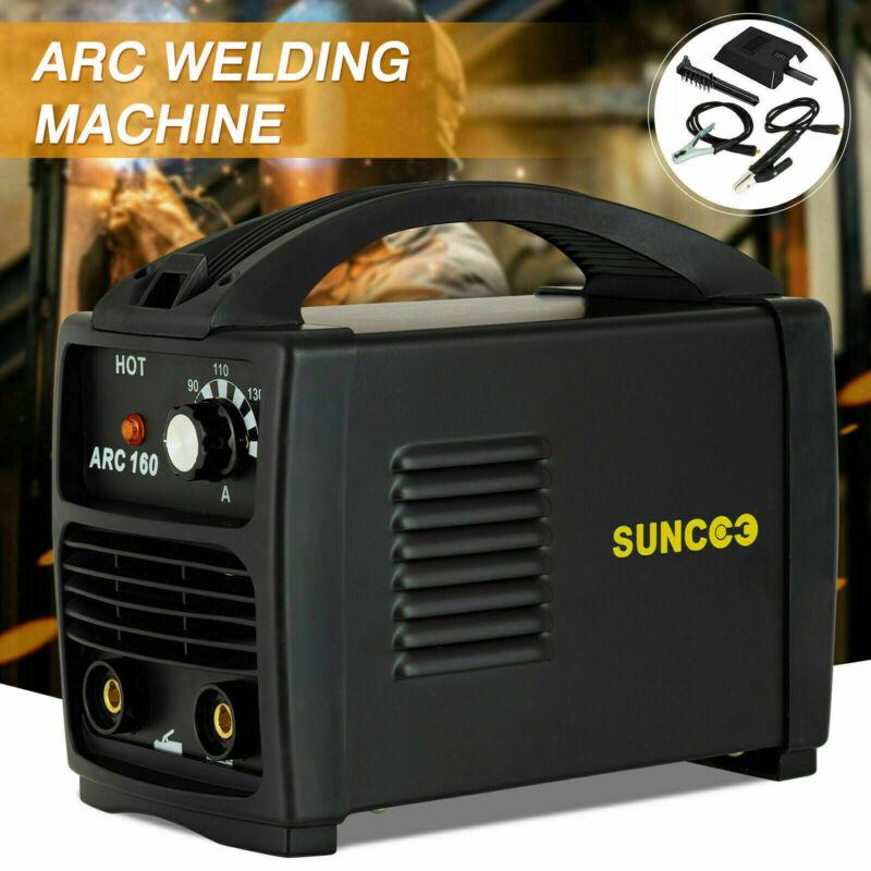 ARC-160 Welding Machine 110V 160 Amp Stick Portable Welder w/ Mask Brush Black