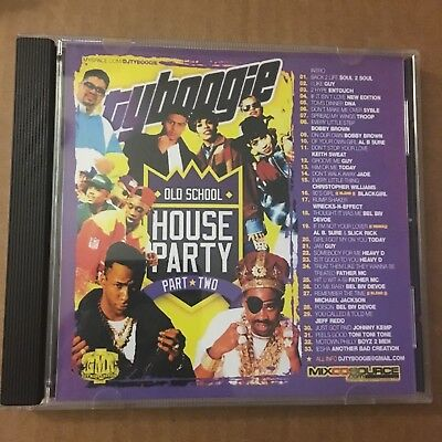 DJ TY Boogie Old School House Party Part 2 Classic Throwback NYC Mixtape MIX CD - Party Ty