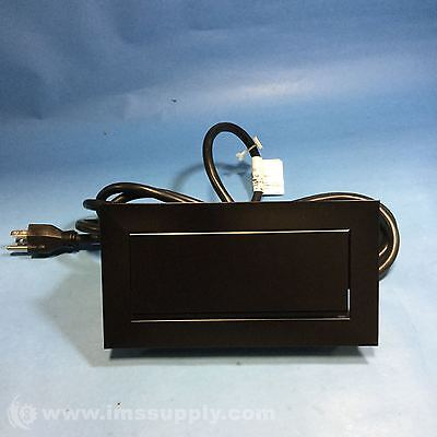 BYRNE ELECTRICAL SPECIALISTS BE01820-M-2-2-EFF-120 DESK OUTLET FNOB