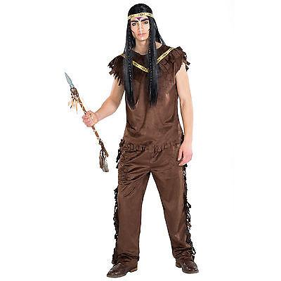 Herrenkostüm Indianer Häuptling Cherokee Fasching Apache Western Cowboy - Cherokee Kostüme