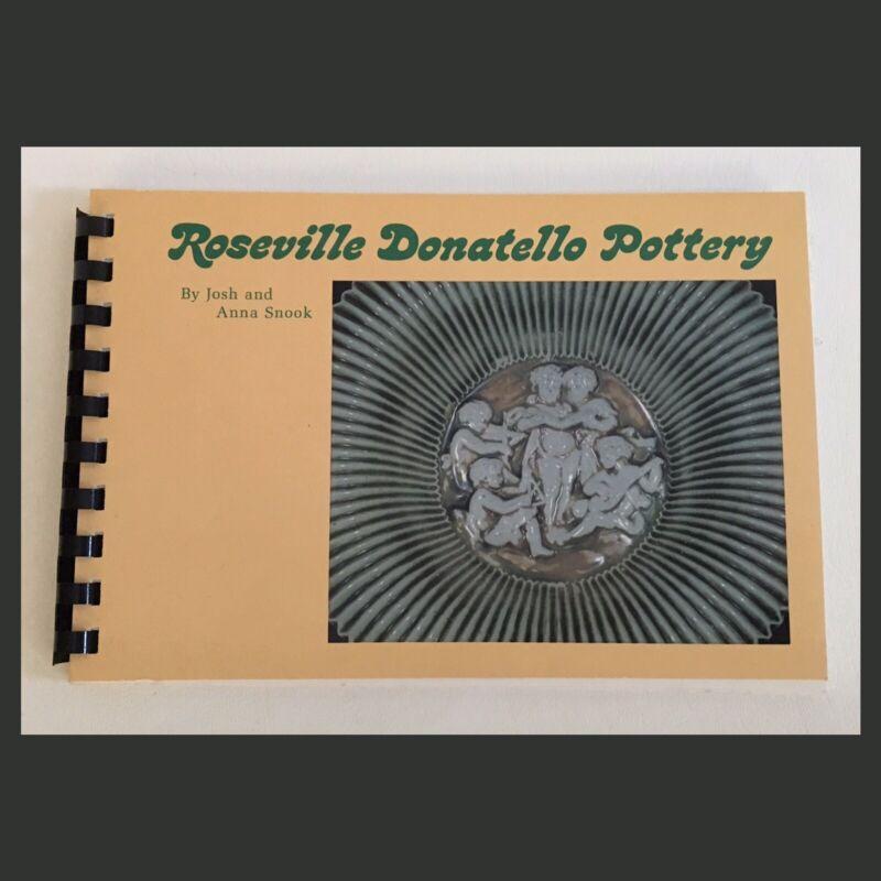 Roseville Donatello Pottery Book - 1975 - Spiral Bound - RARE!