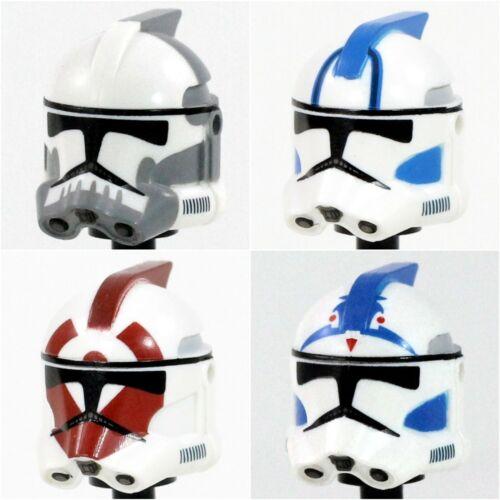 Custom Realistic ARC Clone HELMET for Star Wars Minifigures -Pick Style!- CAC