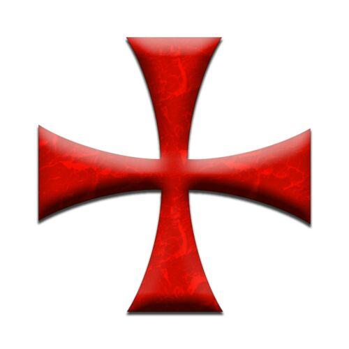 Maltese Cross Masonic Bumper Sticker - [5