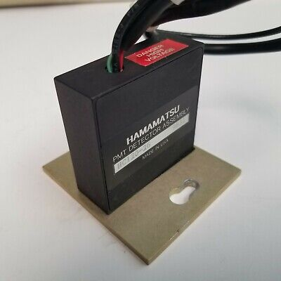Hamamatsu Pmt Hc120-26 Photomultiplier Tube Detector Assembly