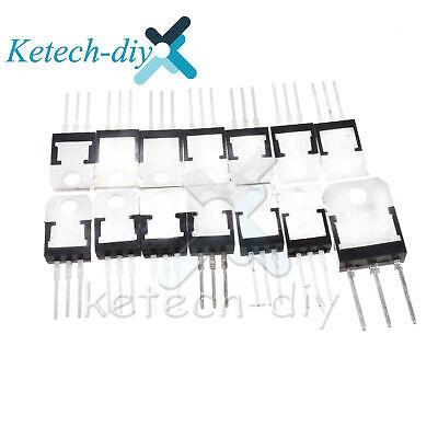 Transistor Tip Tip107 Tip122 Tip125 Tip120 Tip147t Tip32c Tip41c Tip3055 L2kd