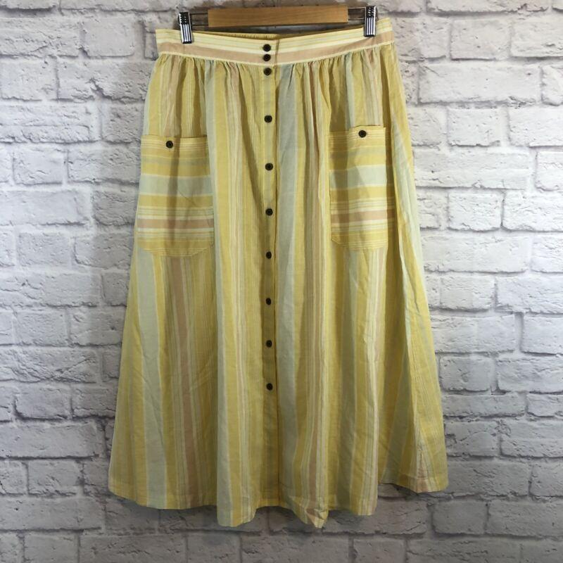 Patagonia Medium Skirt Midi Sunwash Surfboard Yellow $79.00 NWT NEW Womens