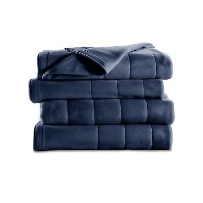 Sunbeam Heated Blanket | 10 Heat Settings, Quilted Fleece, N