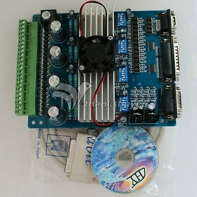 4-axis Tb6560 Stepper Motor Driver Mach3 Cnc Controller Engraver Control Board