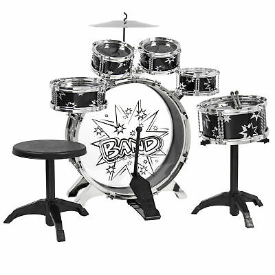 BCP 11-Piece Kids Beginner Drum Percussion Musical Instrument Toy Set