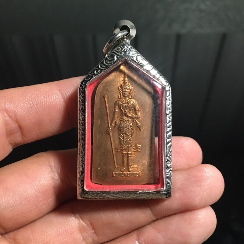 Thep Buddha Amulet Talisman Charm Fetish Luck Love Rich Protected