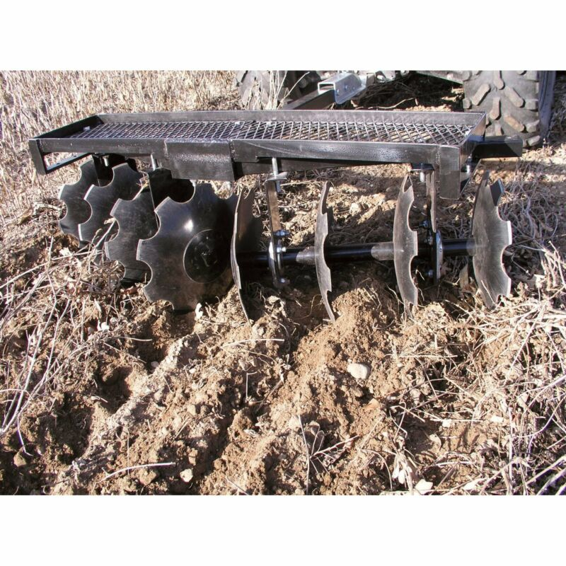 Field Tuff ATV Disk Harrow- 51in W #ATV-51SGDH