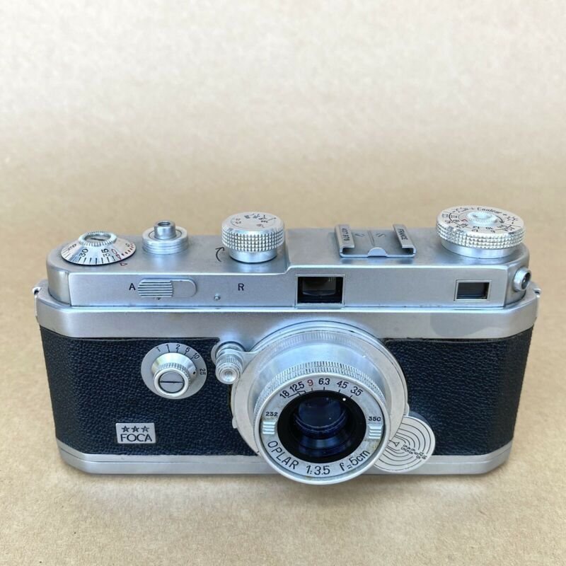 FOCA Vintage 35mm Rangefinder Film Camera W/ Olpar 5cm 3.5 (MADE IN FRANCE)