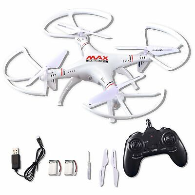 RC Helicopter Drone Toy Quadcopter 2.4Ghz Gyro 4 Channels with Altitude Propound