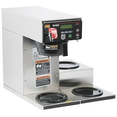 Bunn Axiom Dv-3 Automatic Coffee Brewer With 3 Lower Warmers - Dual Voltage