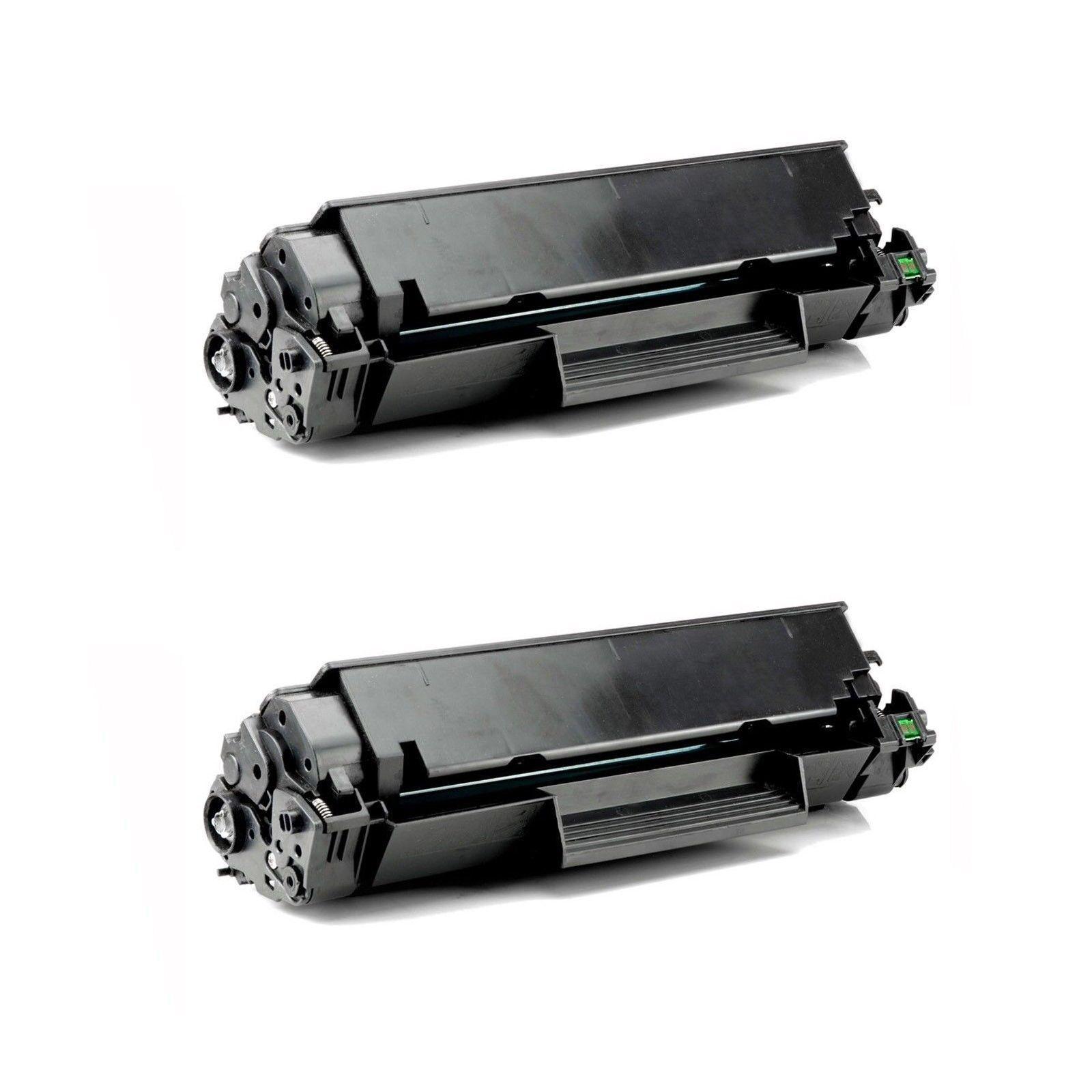 2 X Micr Toner Cartridge For Hplaserjet P1505 M1522n M152...