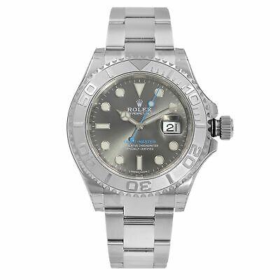 Rolex Yacht-Master 40 Oyster Steel Dark Rhodium Dial Automatic Mens Watch 116622 comprar usado  Enviando para Brazil