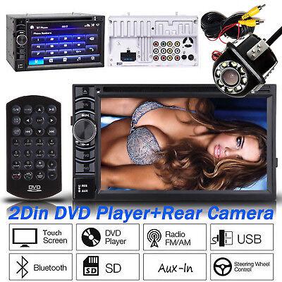 6.2inch Car Audio Stereo CD Player FM Radio Bluetooth 2 Din for Ford Edge Fiesta