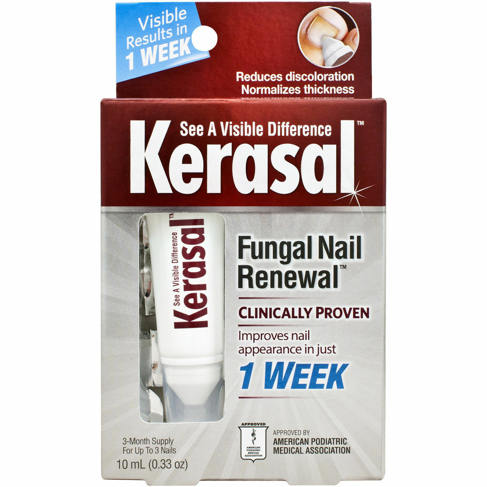 Kerasal Fungal Nail Renewal Treatment 10ml | eBay