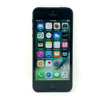 Apple iPhone 5 - 16GB - GSM Unlocked Smartphone - Black