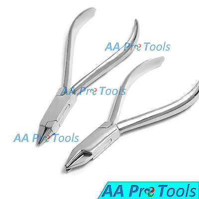 Aa Pro Set Of 2 Dental Bird Beak Pliers Aderer 3 Jaw Pliers Orthodontic