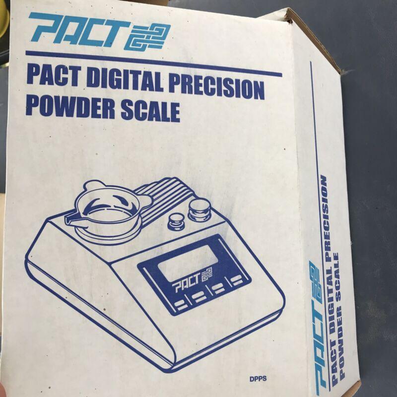 pact digital precision powder scale
