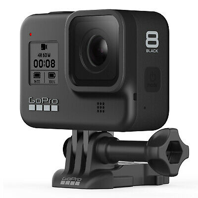 GoPro Hero8 Black Actioncam Kamera Outdoor Camera Camcorder 4K60 Sprachsteuerung