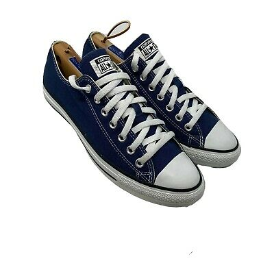 Converse Chuck Taylor All Star Low Top Navy Canvas Shoes Sneakers~Men's Size 10