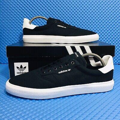 Adidas 3MC (Men's Size 13) Athletic Skate Casual Sneaker Black Canvas Shoes