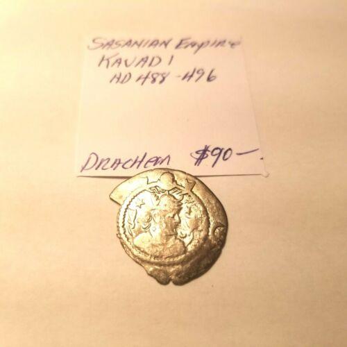 488-496 SASANIAN EMPIRE KAVAD 1 DRACHM