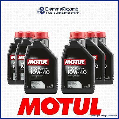 6 Litros Aceite Motul 2100 Power + 10W40 - Technosynthese - Api...