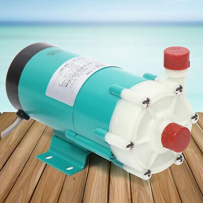 Micro Magnetic Drive Circulation Water Pump Industrial Chemical Pump Mp-20r 110v